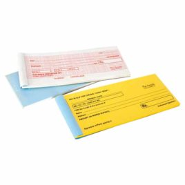 Dummy Cheque Book & Pau in SLip DF 4001