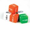 Fractions Dice set of 6 DF 4007