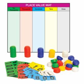 Place Value Mat with Stacking Counter PV 304