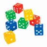 Plastic Dice set of 4 DF 4002